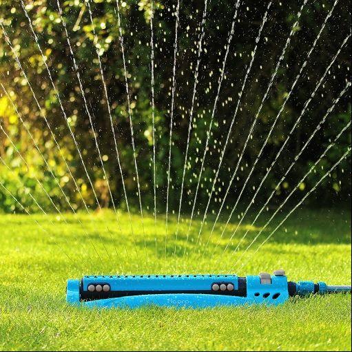 Gardman FloPro Monsoon Oscillating Garden Lawn Sprinkler