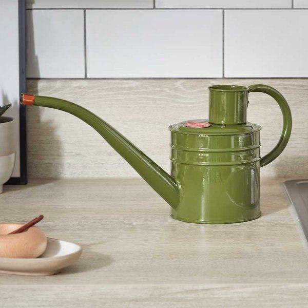 Smart Garden Home & Balcony Steel Watering Can 1L - Sage Green