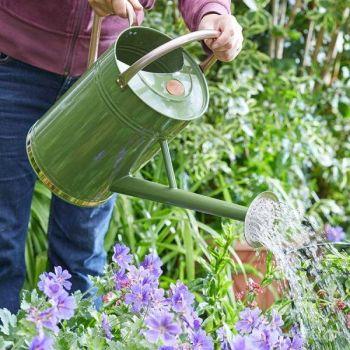 Smart Garden Steel Watering Can 9L - Sage Green