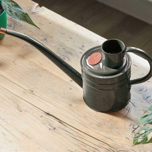 Smart Garden Home & Balcony Steel Watering Can 1L - Slate Grey