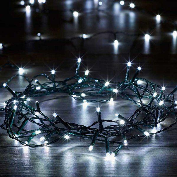 Smart Garden Battery String Lights 200 White LEDs  1921200