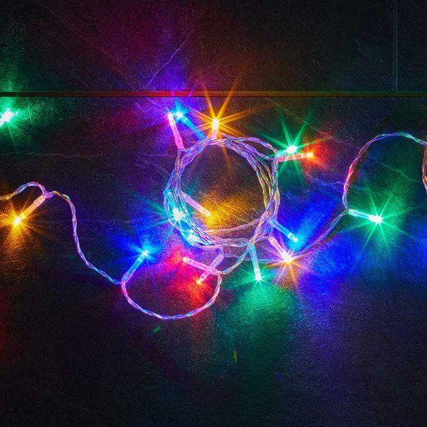 Smart Garden Eureka 200 LED Battery String Lights Multi Coloured LED 312100