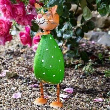 Smart Garden Spangle Cat Metal Garden Animal Ornament