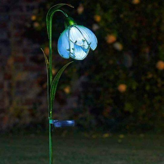 Smart Solar Snowdrop Garden Flower Stake Light