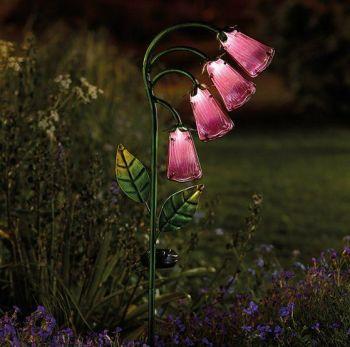 Smart Solar Foxglove Garden Flower Stake Light