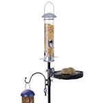 Heavy Duty Bird Feeder Pole with Garden Bird Feeding Station