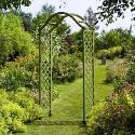 Gardman Elegance Wooden Garden Arch in Green