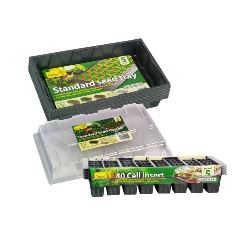 Seed trays and 40 cell inserts