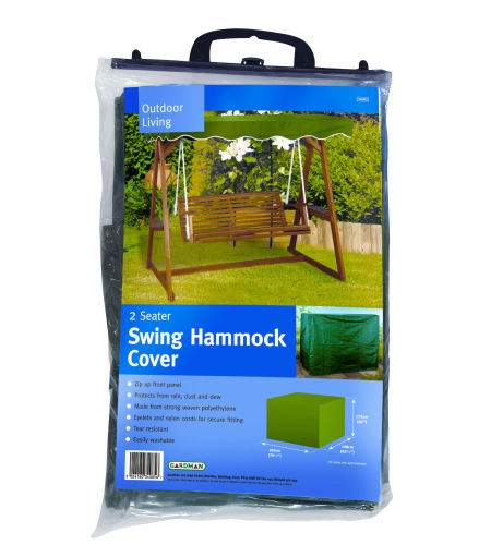 Gardman 2 Seater Garden Swing Seat Hammock Cover