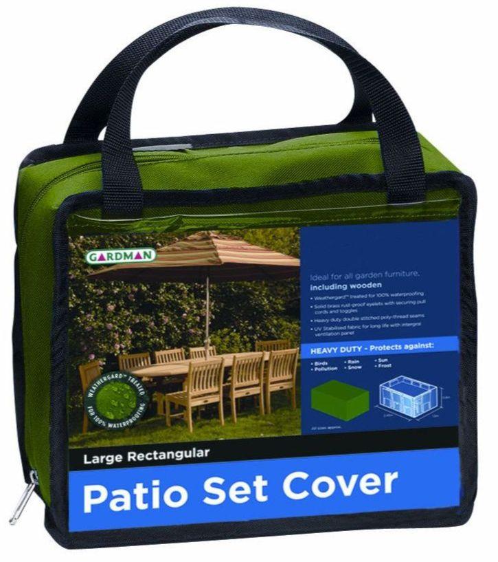 Garden Furniture Cover - Premium Large Rectangular Table & Chair Set