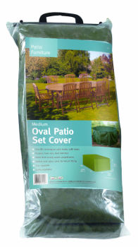 Gardman Medium Oval Patio Furniture Set Cover 34020