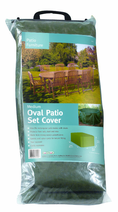 Gardman Medium Oval Patio Furniture Set Cover