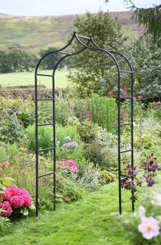 Tom Chambers Baroque Garden Arch Steel Archway 2.4m
