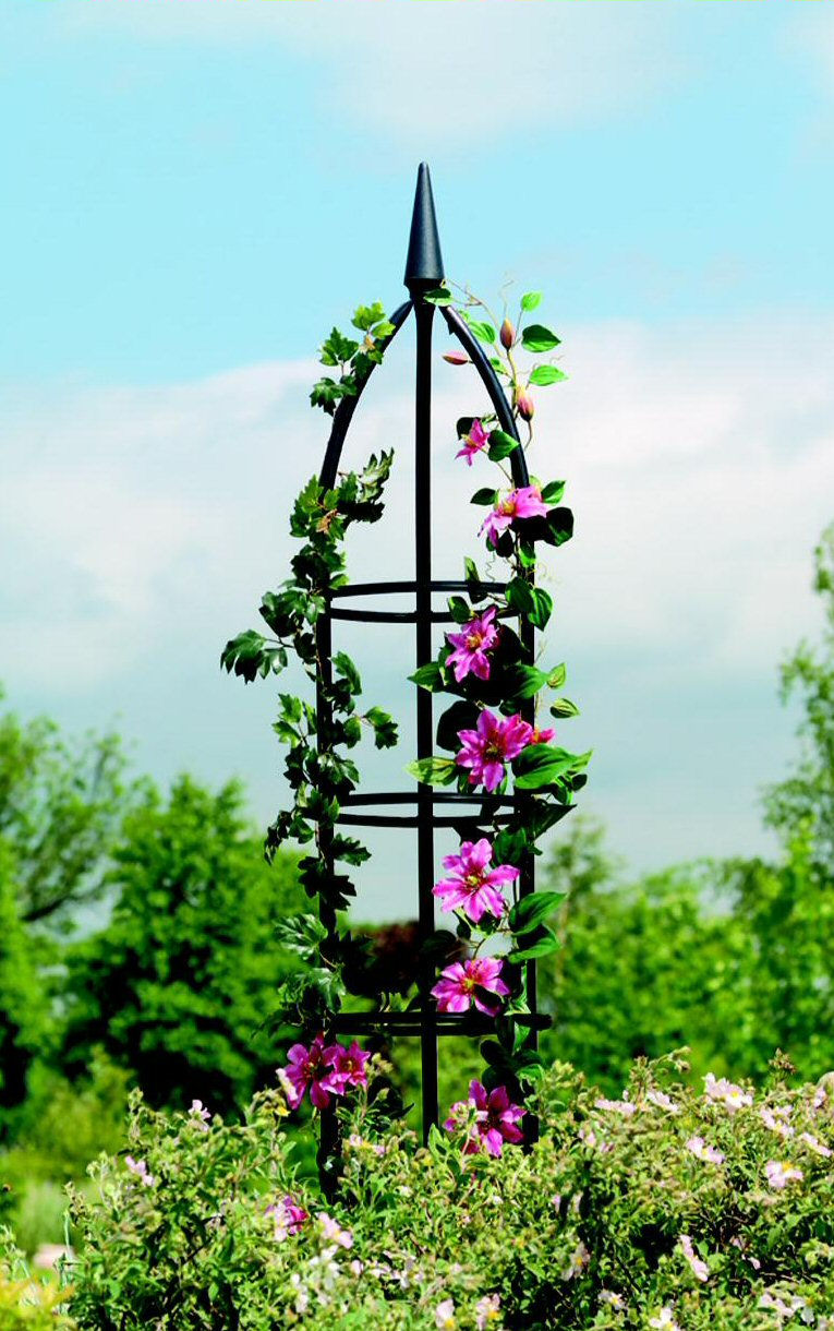 Gardman Metal Garden Obelisk Traditional Style 1.55m H