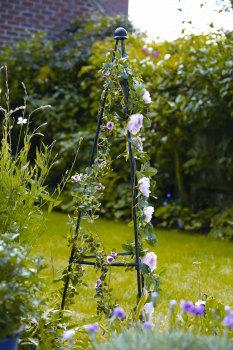 Greentree Metal Garden Obelisk 1.5m Quick & Easy Plant Support