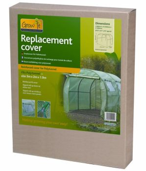 Gardman Reinforced Replacement Cover for a 3m Polytunnel