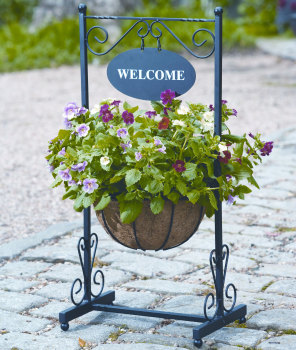 Gardman Metal Welcome Planter
