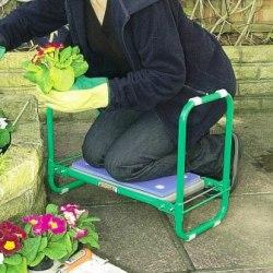 Draper Garden Kneeler Seat kneeling
