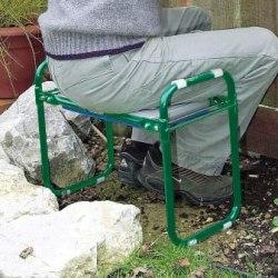 Draper Garden Kneeler Seat Sitting