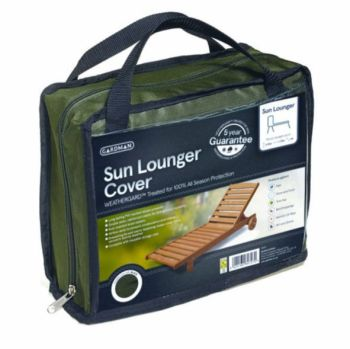 Gardman Sun Lounger Cover - HD Polyester Green