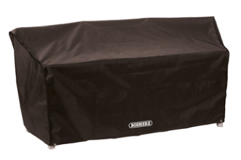 Bosmere Quality Conversation Companion Seat Cover Black D620