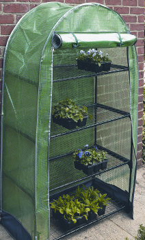 Gardman 4 Tier Grow Arc Garden Plant Growhouse