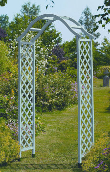 Gardman Wooden Garden Arch Sea Breeze & Ground Spikes (option)