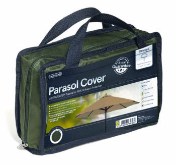 Gardman Premium Standard Garden Patio Parasol Umbrella Cover - Green