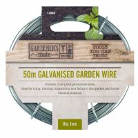 Gardman Garden Wire 50m General Purpose Galvanised Wire - 14060