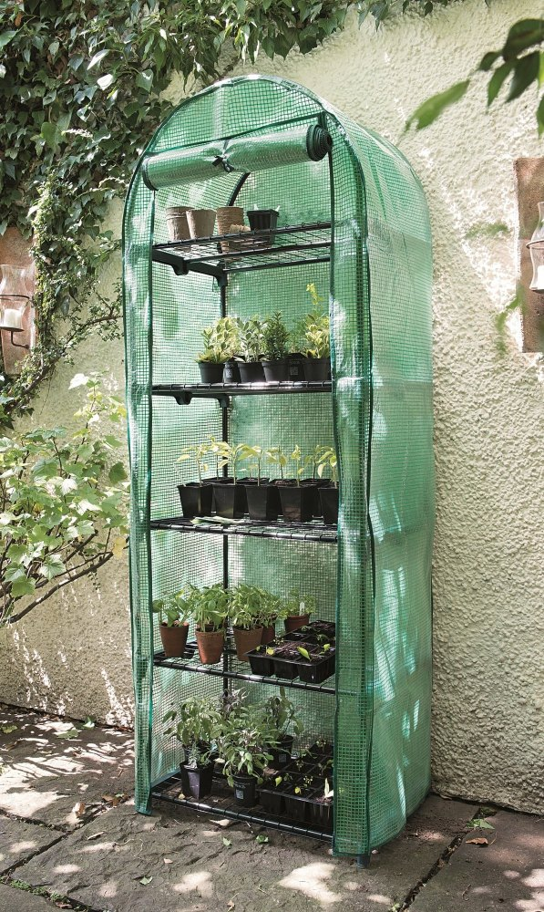 Gardman 5 Tier Growhouse & Mini Greenhouse