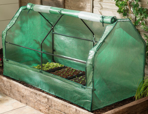 Gardman Seedling Cloche Garden Plant Grow Tunnel 1.8m wide
