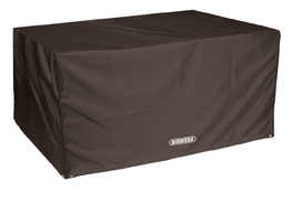 Bosmere Storm Black Rectangular Table Cover 6 Seat Seater D555