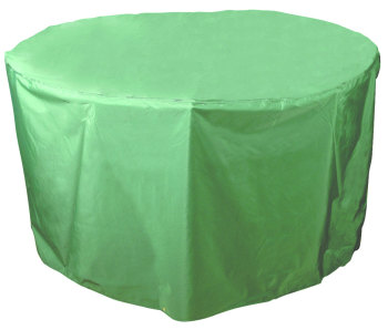 Bosmere Green Circular Round Table Cover 4 - 6 Seat C545