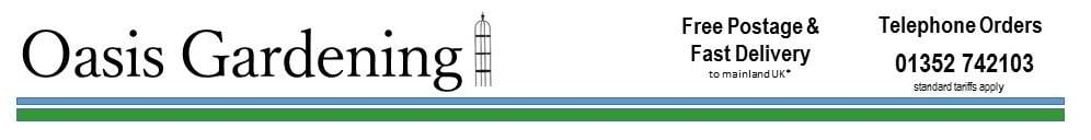 Oasis Gardening, site logo.
