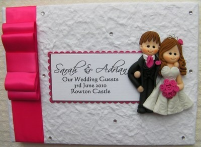 Box Bow Wedding Guest Book 1