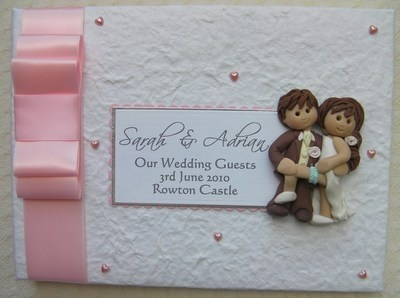 Box Bow Wedding Guest Book 3