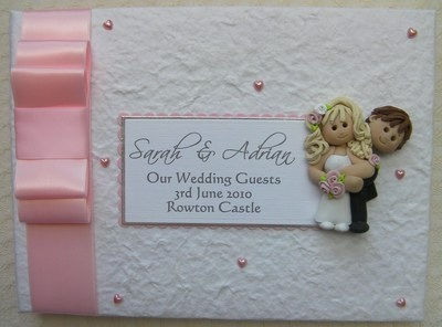 Box Bow Wedding Guest Book 5