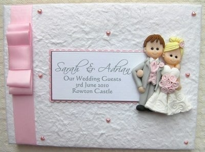 Box Bow Wedding Guest Book 2