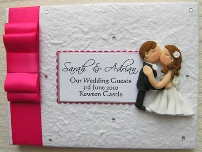 Box Bow Wedding Guest Book 6