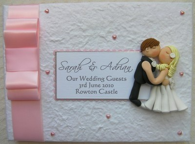 Box Bow Wedding Guest Book 10