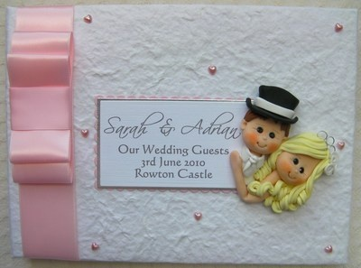 Box Bow Wedding Guest Book 4