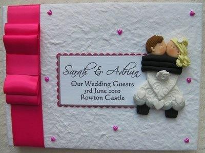 Box Bow Wedding Guest Book 9