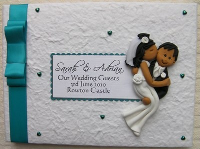 Box Bow Wedding Guest Book 12