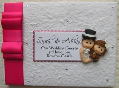 Box Bow Wedding Guest Book 13