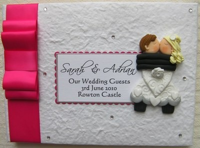 Box Bow Wedding Guest Book 13
