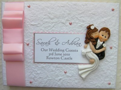 Box Bow Wedding Guest Book 14