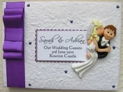 Box Bow Wedding Guest Book 15