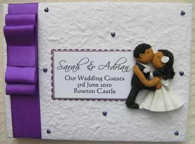 Box Bow Wedding Guest Book 16
