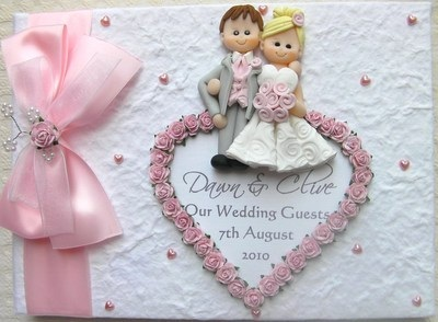 Bespoke Wedding Guest Book Wedding Cuddle
