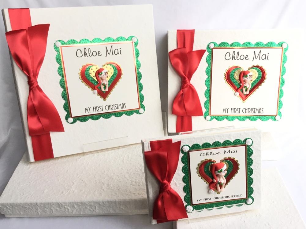 Personalised First Christmas Trio set